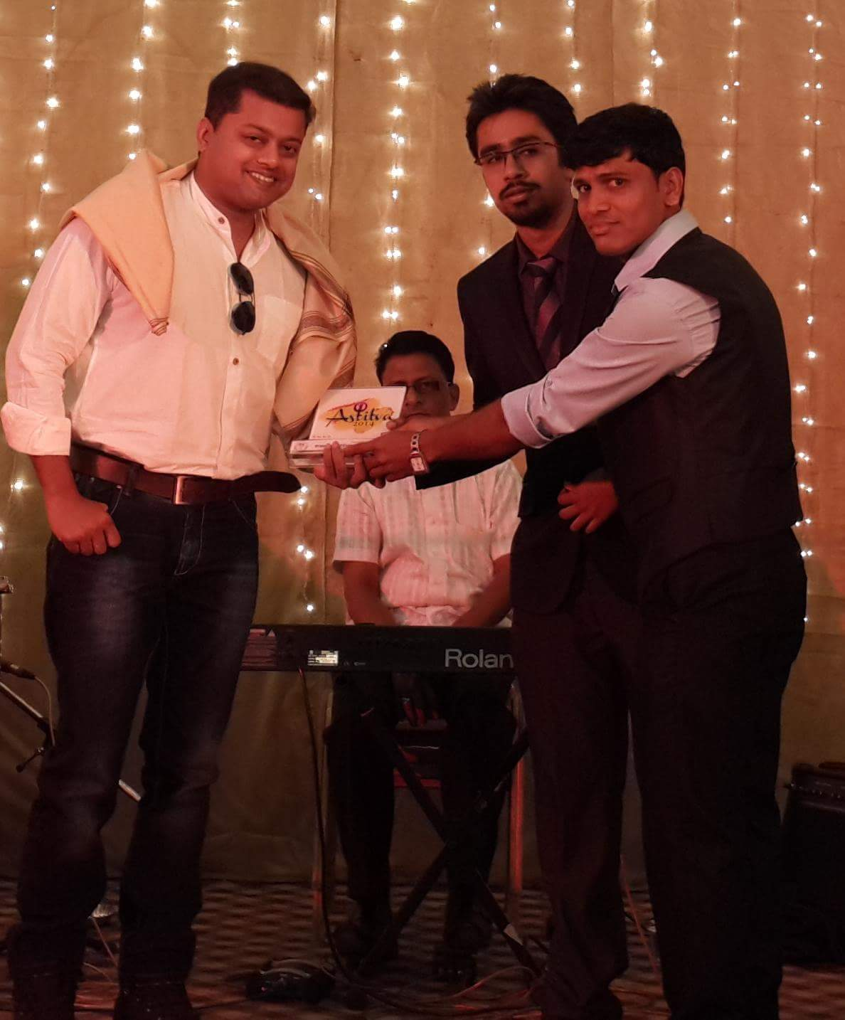 Felicitated at Topiwala National Medical College at their annual festival