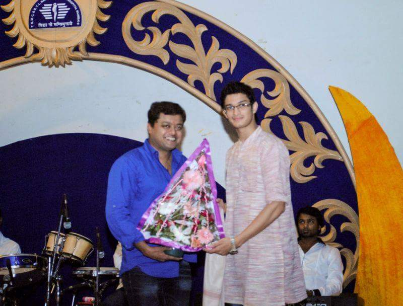 Felicitated at Institute Of Chemical Technology, Matunga.